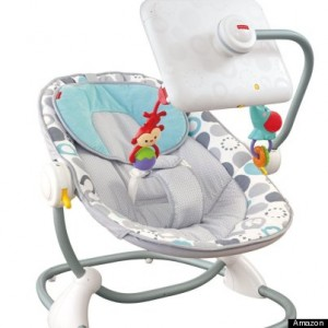 iPad bouncy seat